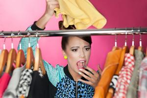 Foto: Schreck beim Kleiderschrank-Check